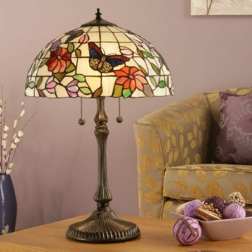 Butterfly Large Table Lamp TV158 light (Tiffany style)